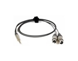 CABLE Y • 1m Jack NP3X = 2 XLR NC3FXX (cablage parallèle)-cablage