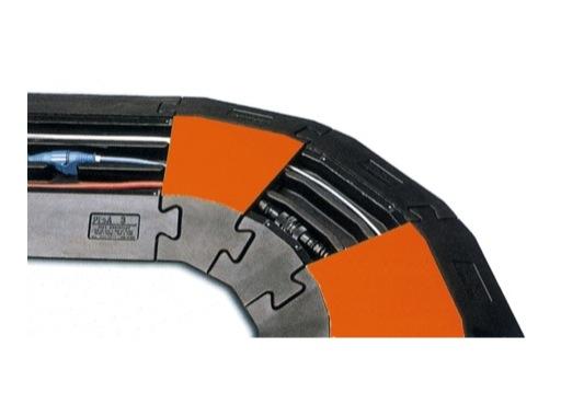 CAPA • Angle 30° pour passage de câble 3 canaux