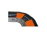 CAPA • Angle 30° pour passage de câble 3 canaux-cablage
