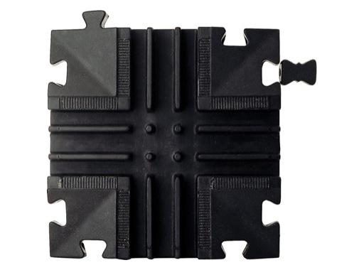 CAPA JUNIOR • Croix 3 canaux 4 directions 25 x 25 x 3,4 cm
