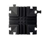CAPA JUNIOR • Croix 3 canaux 4 directions 25 x 25 x 3,4 cm-passages-de-cables