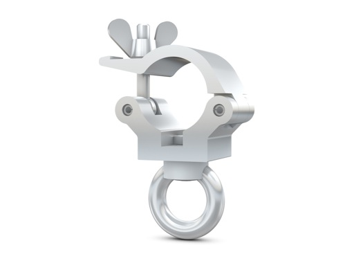 CELL • Collier alu + anneau M6 Ø 32mm CMU 190kg largeur 32mm