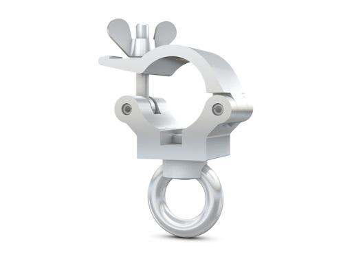 CELL • Collier alu + anneau M10 Ø 32mm CMU 190kg largeur 32mm