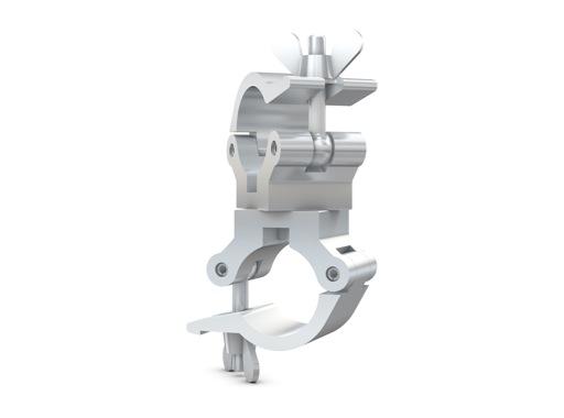 CELL • Collier alu double 360° M6 Ø 32mm CMU 100kg largeur 32mm