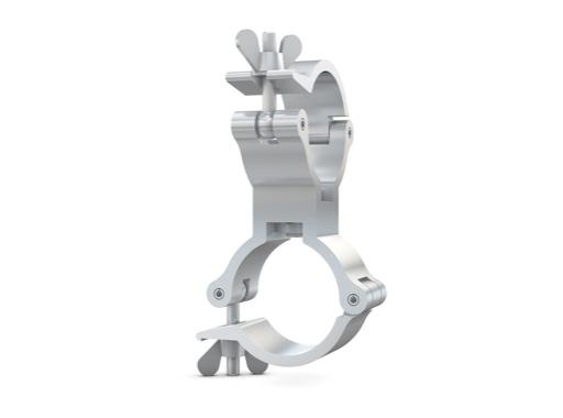 CELL • Collier alu double 360° M10 Ø 48/51mm CMU 230kg largeur 30mm