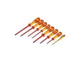 CK • Jeu de 8 tournevis Plat + PZD Isolés 1000 V-outils