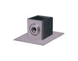 Raccord carré 40/40 embase avec fixation à vis