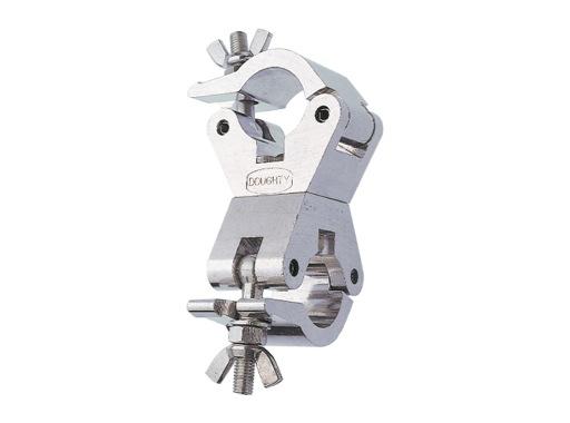 DOUGHTY • Collier alu double 360° M12 Ø 48/51mm CMU 500kg largeur 50mm