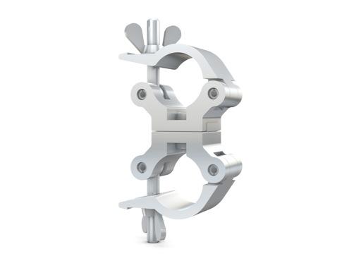CELL • Collier alu double parallèle M12 Ø 48/51mm CMU 540kg largeur 50mm