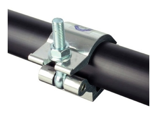 DOUGHTY • Collier alu léger M12 Ø 48/51mm max 500 Kg