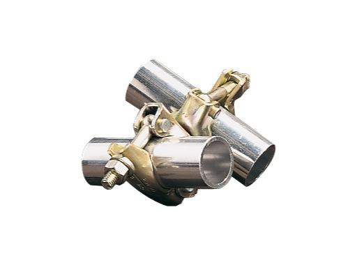COLLIER • Double collier pivotant 360° Ø 50 mm