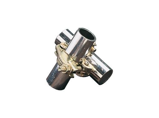 COLLIER • Double collier fixe 90° Ø 50 mm