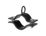 SUPPORT DE TUBE • avec anneau - CMU 50 kg - acier noir-supports-de-perche