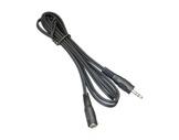 Cordon • Jack 3,5 stéréo mâle / femelle 1,20m-cables-moules