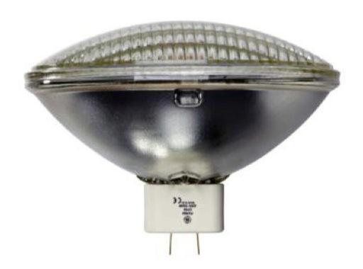 GE • PAR64 MFL 500W 240V GX16D 3200K 300H 99948