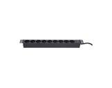 """Rampe Alu • Multiprises 16A x 9 rack 19"""""""