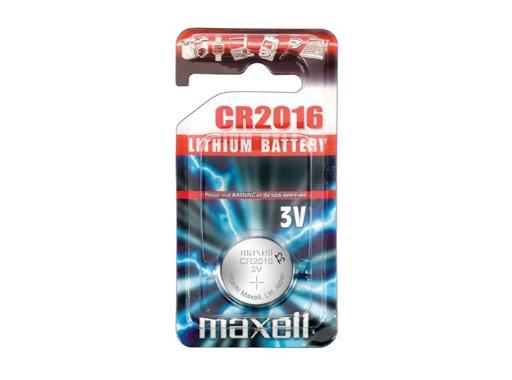 MAXELL • 1 Pile bouton lithium 3V 36mAh 10 ohms