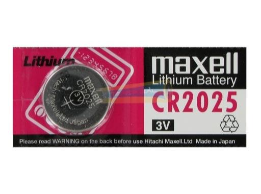 MAXELL • 1 Pile bouton Lithium 3V 160mAh 12 ohms