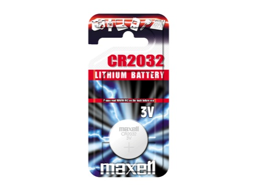 MAXELL • 1 Pile bouton Lithium 3V 280mAH 12 ohms 20mm