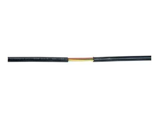 Câble silicone gris • Haute température 180°C 3 x1,5mm2 au métre