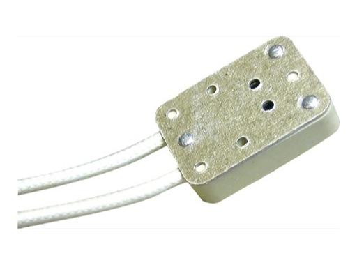 Douille • GX5,3 rectangulaire câble sur le côté 13cm