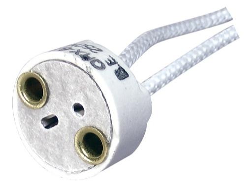 Douille • GY6,35 / GX5,3 ronde sortie câble en bas