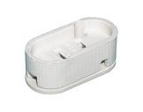 Douille • GX16D porcelaine ovale