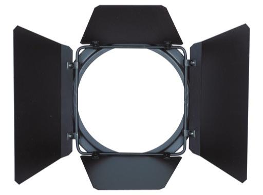 DTS • Volet 4 faces noir pour SCENA LED 80