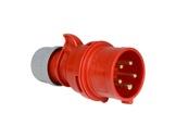 PCE • Fiche mâle P17 16A 380V 3P+N+T IP44-cablage