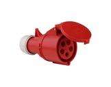 PCE • Prolongateur femelle 225-6/P17 415V 32A 3P+N+T IP44 R