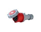 PCE • Prolongateur femelle P17 63A 415V IP67 3P+N+T+pil