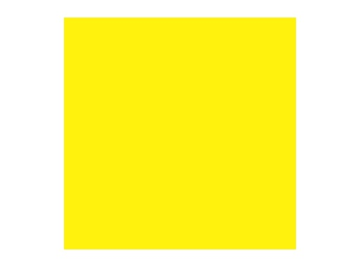 ROSCO • MEDIUM YELLOW - Rouleau 7,62m x 1,22m