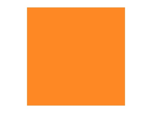Filtre gélatine ROSCO MEDIUM AMBER - rouleau 7,62m x 1,22m