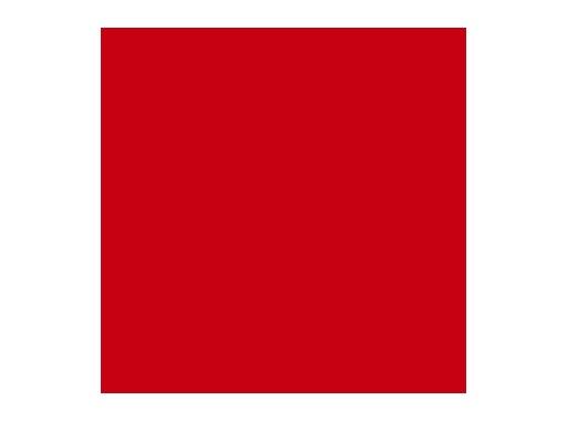 Filtre gélatine ROSCO BRIGHT RED - rouleau 7,62m x 1,22m
