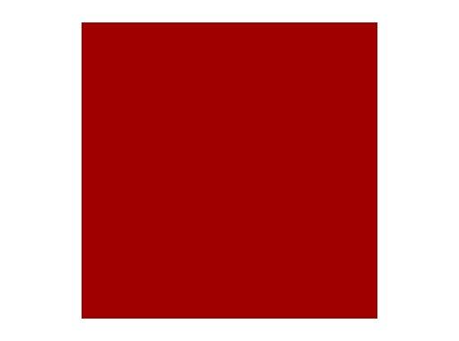 Filtre gélatine ROSCO MEDIUM RED - feuille 0,53 x 1,22