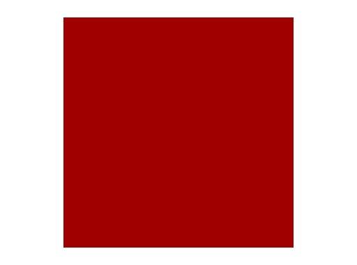 Filtre gélatine ROSCO MEDIUM RED - feuille 0,53 x 1,22