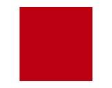 Filtre gélatine ROSCO PLASA RED - feuille 0,53 x 1,22