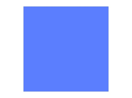 Filtre gélatine ROSCO SKY BLUE - feuille 0,53 x 1,22