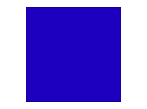 Filtre gélatine ROSCO DEEPER BLUE - rouleau 7,62m x 1,22m