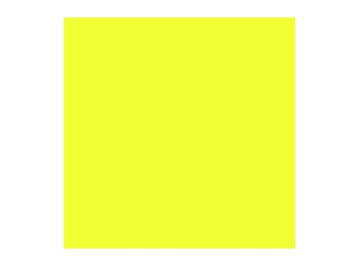 Filtre gélatine ROSCO SPRING YELLOW - feuille 0,53 x 1,22