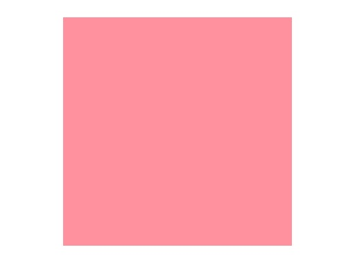 Filtre gélatine ROSCO LIGHT SALMON - feuille 0,53 x 1,22