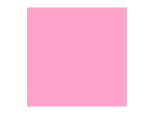 Filtre gélatine ROSCO MIDDLE ROSE - feuille 0,53 x 1,22