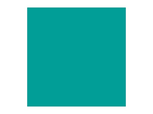 Filtre gélatine ROSCO MEDIUM BLUE GREEN - rouleau 7,62m x 1,22m