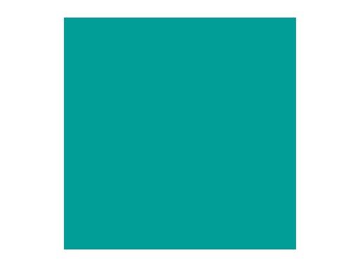 Filtre gélatine ROSCO MEDIUM BLUE GREEN - feuille 0,53 x 1,22