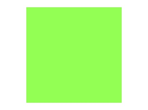Filtre gélatine ROSCO SOFT GREEN - feuille 0,53 x 1,22