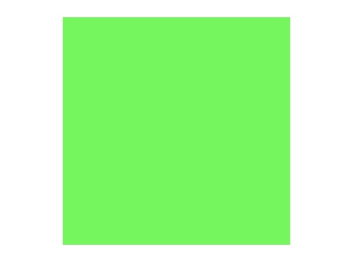 Filtre gélatine ROSCO FERN GREEN - feuille 0,53 x 1,22