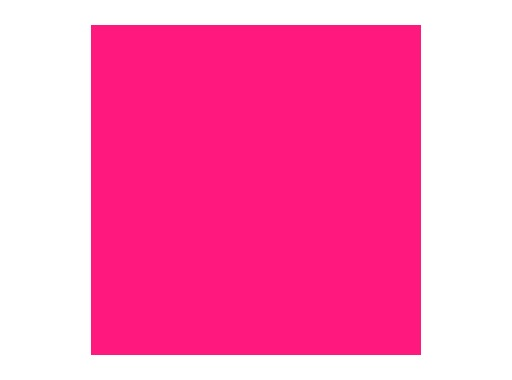 Filtre gélatine ROSCO BRIGHT PINK - feuille 0,53 x 1,22
