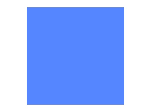 Filtre gélatine ROSCO MEDIUM BLUE - feuille 0,53 x 1,22