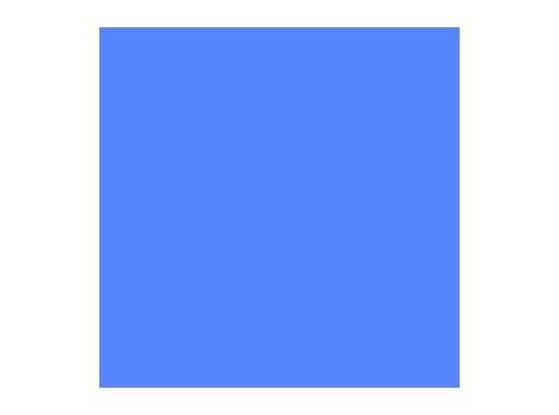 ROSCO • MEDIUM BLUE feuille 0,53 x 1,22