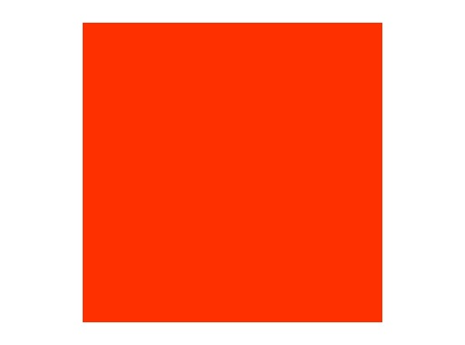 Filtre gélatine ROSCO DEEP GOLDEN AMBER - feuille 0,53 x 1,22